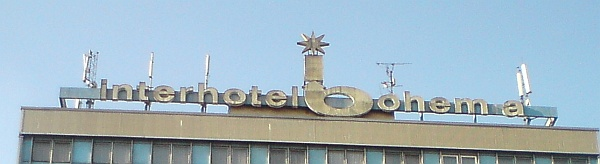 Interhotel Bohemia, Mírové náměstí, Ústí n/L