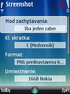 Nastavení aplikace