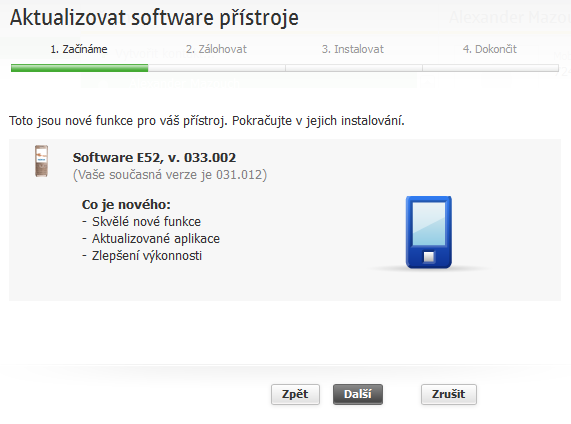 Pro PC 0587600 je již aktualizace k dispozici