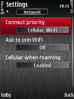 nastavení sítě