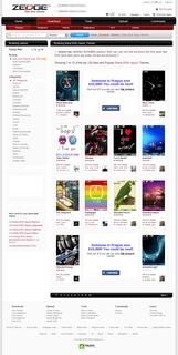 Zedge.net - stránka s náhledy témátek